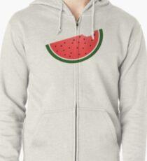 Watermelon Zipped Hoodie