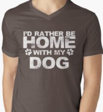 I'd Rather Be Home With My Dog T-Shirt