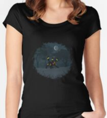 umbreon Women's Fitted Scoop T-Shirt