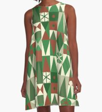 Mary Blair Christmas A-Line Dress