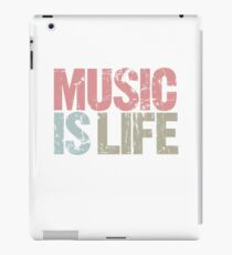 Music is Life (Special Edition) iPad Case/Skin