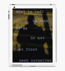 SEEK iPad Case/Skin