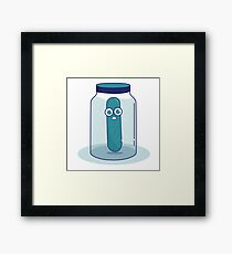 Kool-Aid Pickle Framed Print