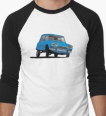 Citroën Ami 8 Break illustration, blue T-Shirt