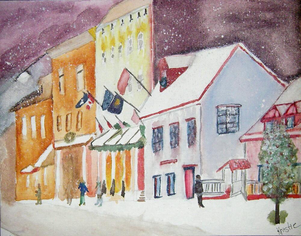 Quebec City by Magnoliadorn