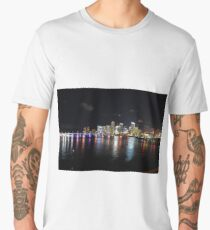 Miami at Night Men's Premium T-Shirt
