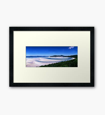 Hill Inlet - Nth Qld. Framed Print