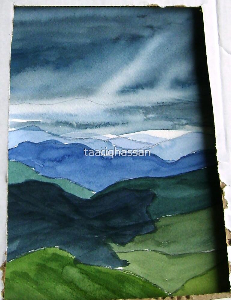 summer rain coming  at Mt Hotham, Australian Alps by taariqhassan