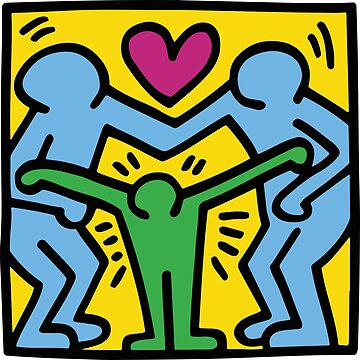 Love (Keith Haring) by RetroPops