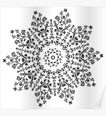 Snowflake #2 Poster