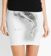 Floating Girl Mini Skirt