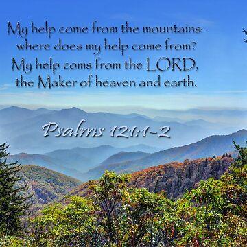 Psalms 121 1-2 by venny