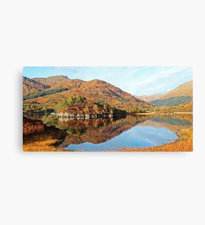 Glenfinnan & Loch Shiel Canvas Print