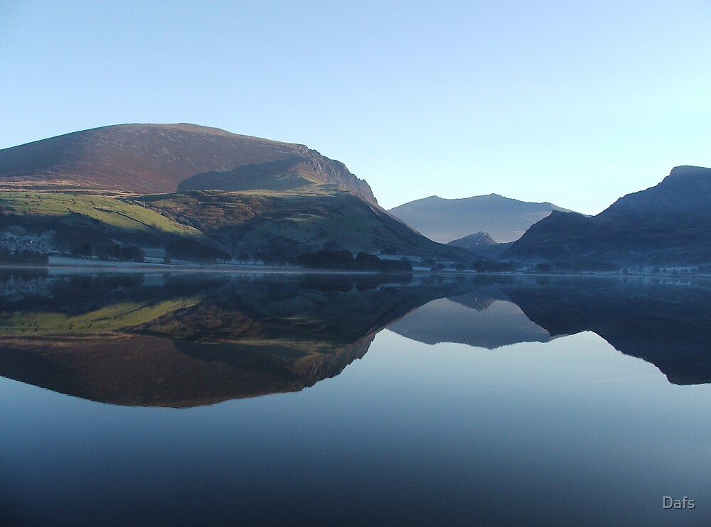 Snowdon's reflection by Dafs