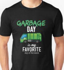 Garbage Day Truck Unisex T-Shirt