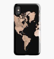 Design 97 world map iPhone Case/Skin