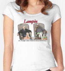 Lampin - zügeln Sie Ihre Begeisterung Tailliertes Rundhals-Shirt