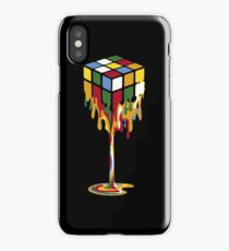 Melting Rubik's Cube iPhone Case/Skin