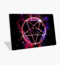 Space Demon 2049 - Evil Synthwave Sigil Laptop Skin
