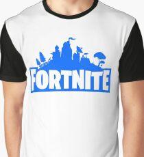 Fortnite Blue Graphic T-Shirt