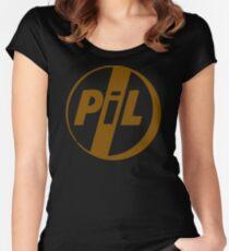 BEST T-SHIRT KE46 Public Image Ltd Pil Punk Band T Shirt Trending Women's Fitted Scoop T-Shirt