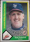 351 - Todd Frohwirth by Foob's Baseball Cards
