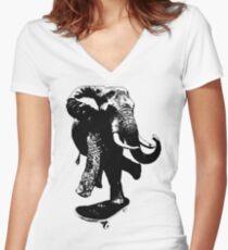 Olie Women's Fitted V-Neck T-Shirt