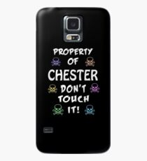 Property of Chester Case/Skin for Samsung Galaxy
