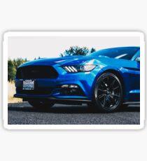 Mustang Grill Sticker