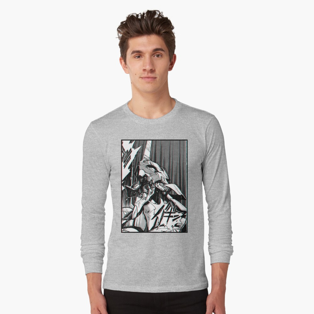 Evangelion 01 RAGE Langarmshirt