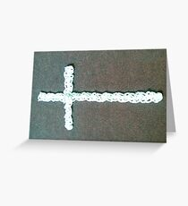 At the Cross Greeting Card