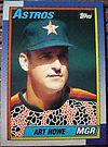 353 - Art Howe by Foob's Baseball Cards