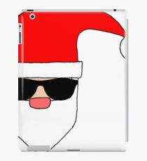 Hilarious-cool-santa iPad Case/Skin
