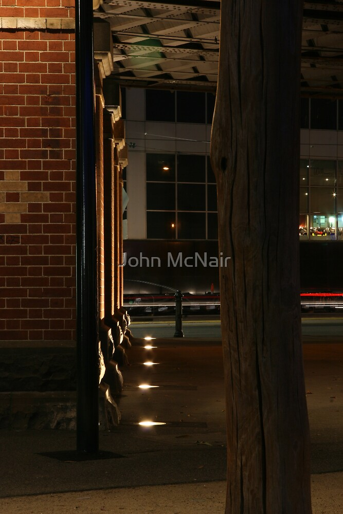 Melbourne after dark by John McNair