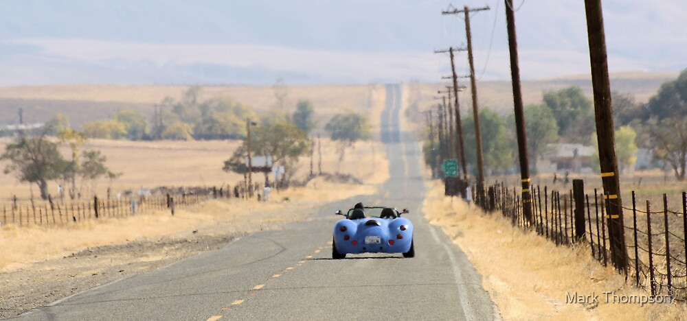open road by Mark Thompson