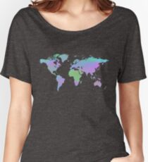 Watercolor World Women's Relaxed Fit T-Shirt