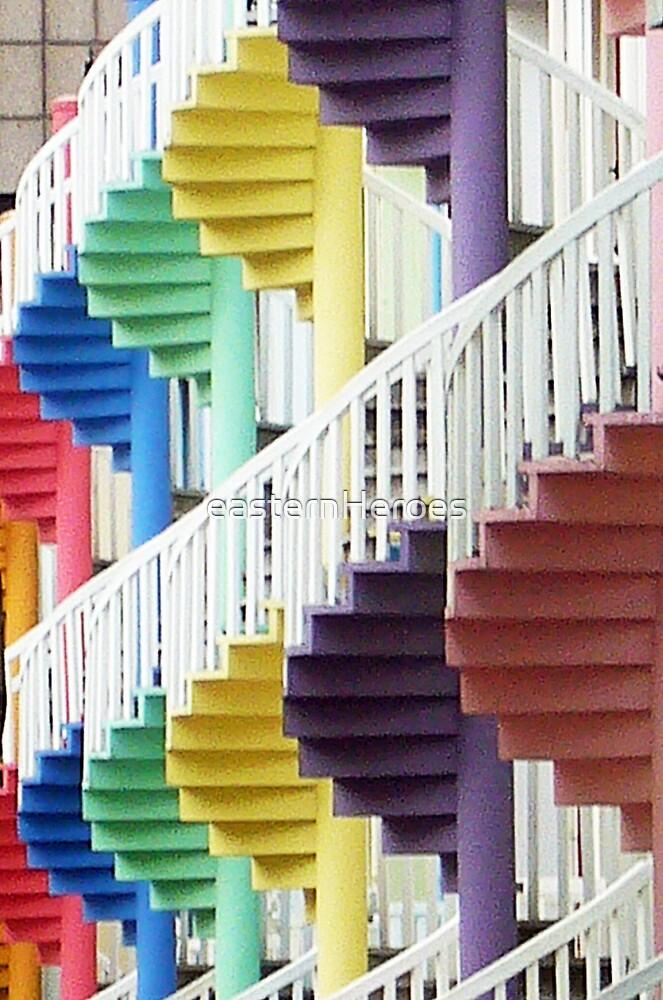 Stairs by easternHeroes