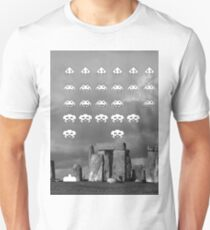 Space Invaders Vs. Reality Unisex T-Shirt