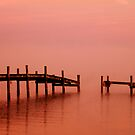 Colonial Beach Virginia Seascape by Clayton Bruster