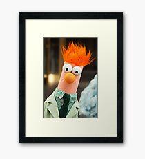 It's Beaker! Framed Print