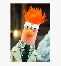 It's Beaker! Photographic Print