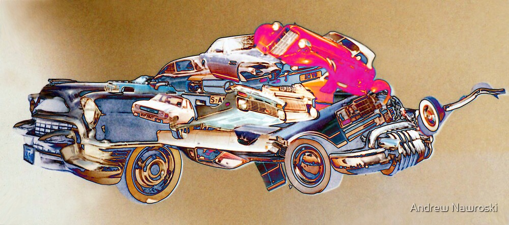 Ford Pop Gangsters Car. by Andrew Nawroski