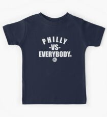 philly vs everybody Kids Tee