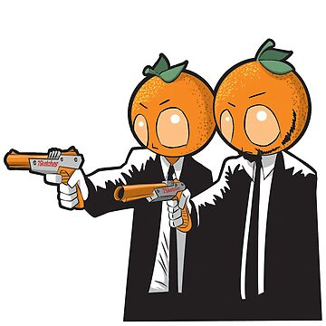 Orange Pulp Fiction by 7sketches