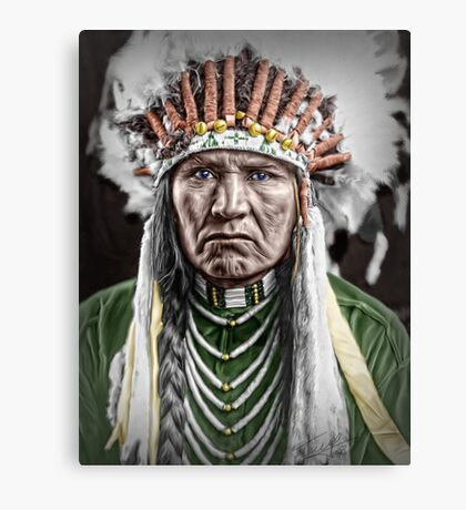 Nez Percé Indian Canvas Print