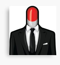 The Pill Man Canvas Print