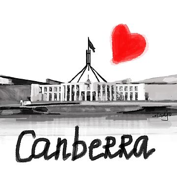 I love Canberra  by sladjana