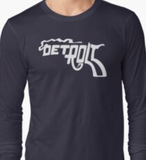 Detroit Smoking Gun Long Sleeve T-Shirt