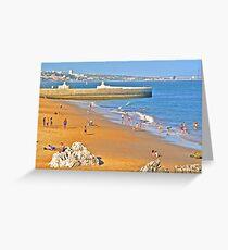 Lisbon coast Greeting Card
