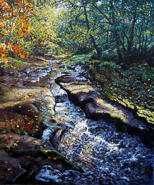 Autumn River by espiritoart